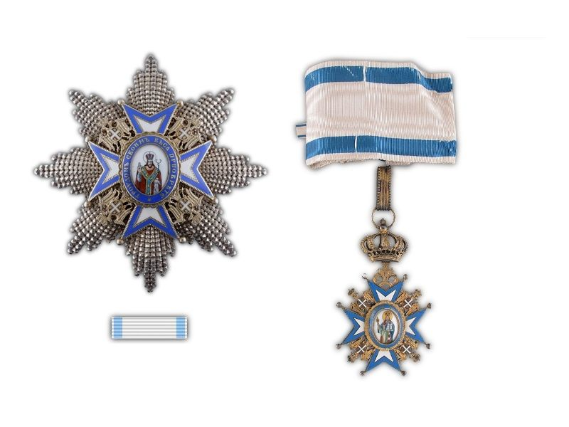 Order of St. Sava (1883 - 1941)