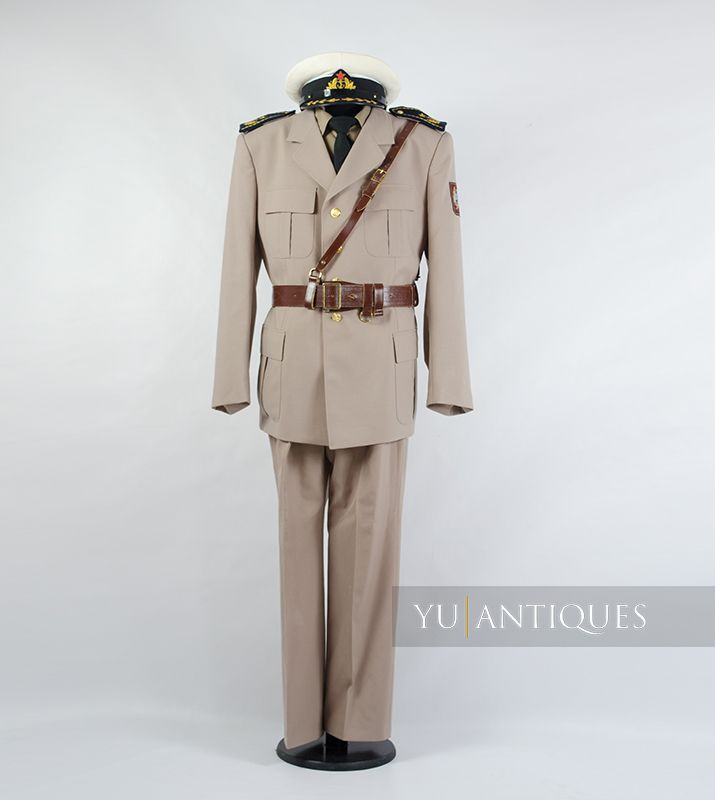 Yugoslav Peoples Army JNA Navy Official Summer Uniform of Active Military Personnel
