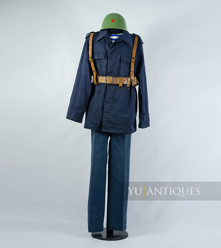 Yugoslav Peoples Army JNA War Uniform of Unaccompanied Active Military Personnel