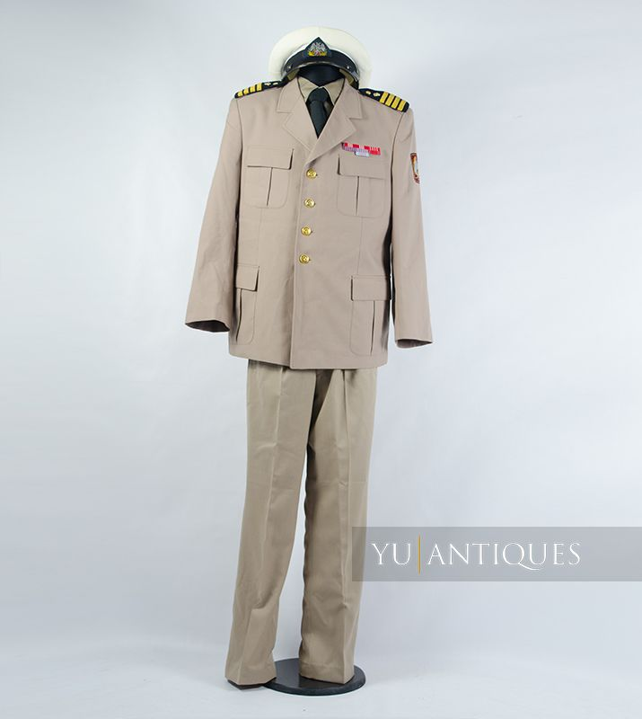 Yugoslav Peoples Army JNA Official Summer Uniform of Active Military Personnel