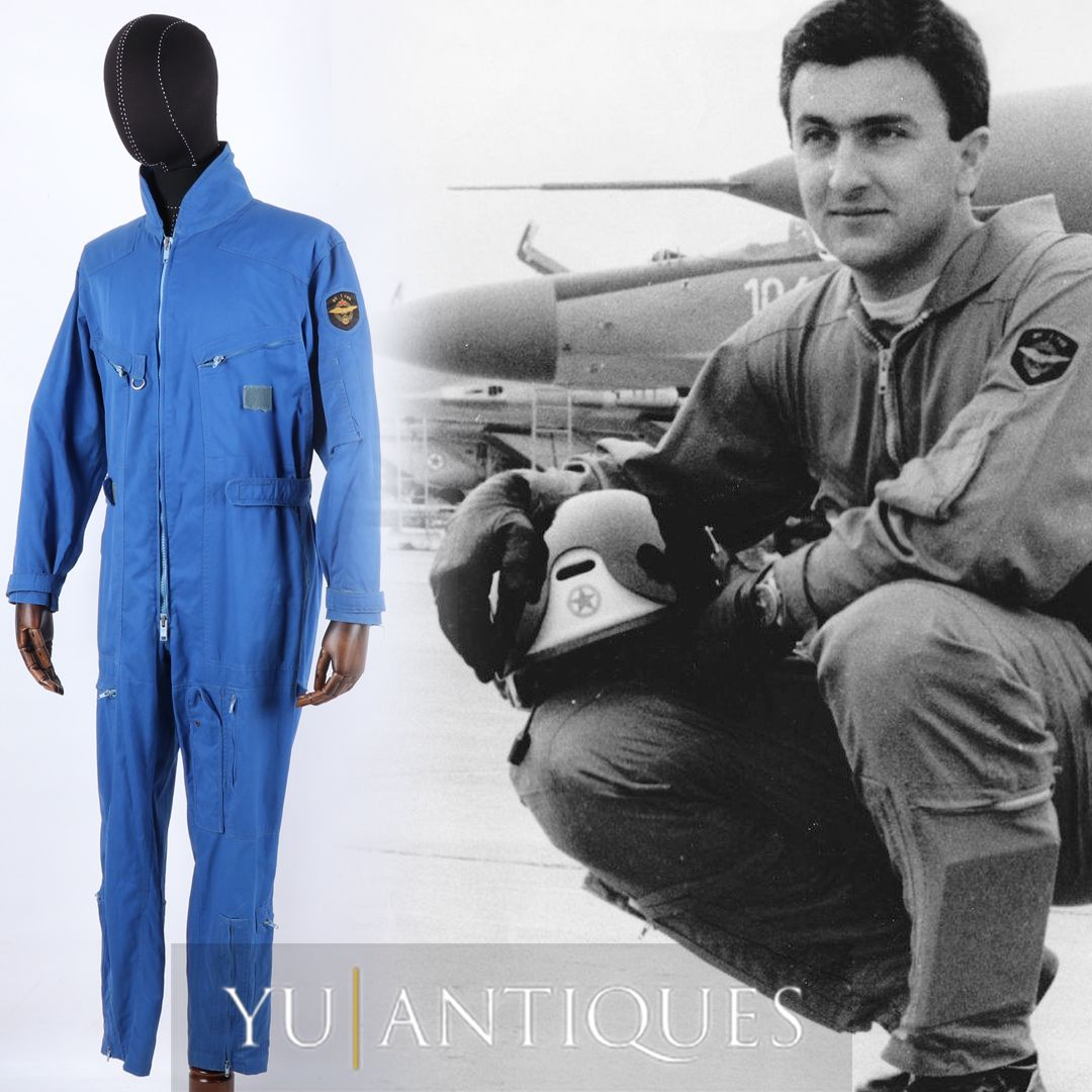JNA Yugoslav Peoples Army Blue Pilot Coverall
