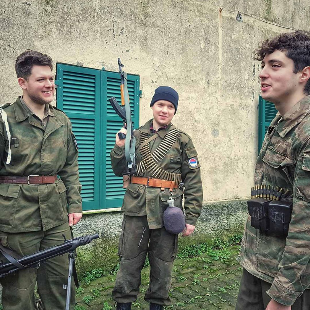 Balkan Storm Reenactement Group from Italy