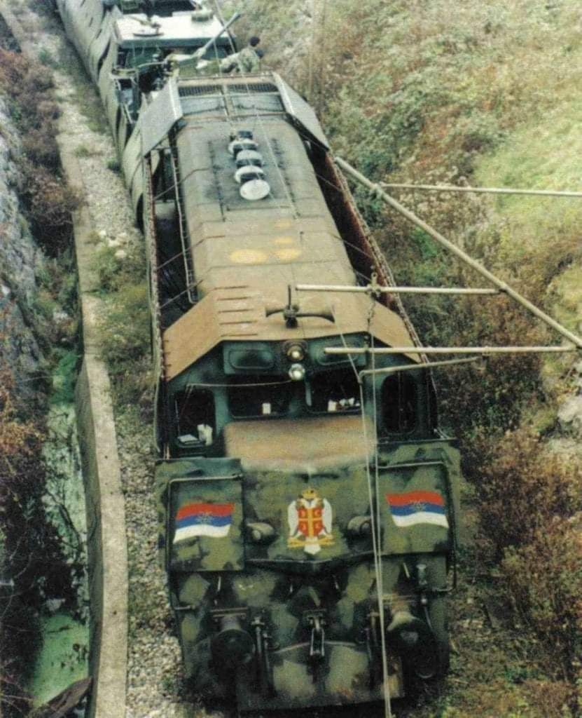 The War Path Of The Serbian Krajina Express
