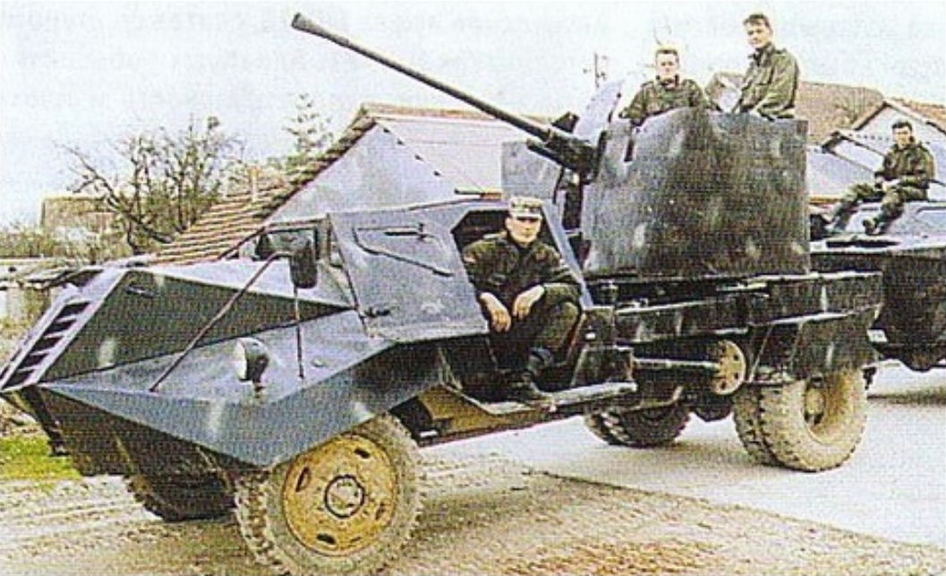 Panther Guard - The Mad Max Vehicles of the Bosnian War