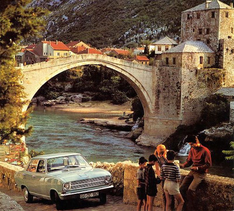 Destruction of the Old Mostar Bridge
