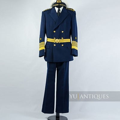 Yugoslav Peoples Army JNA Navy Formal Uniform of Active Military Personnel